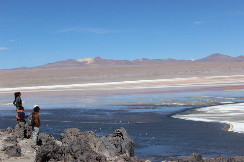 As paisagens do Salar de Uyuni me esperavam